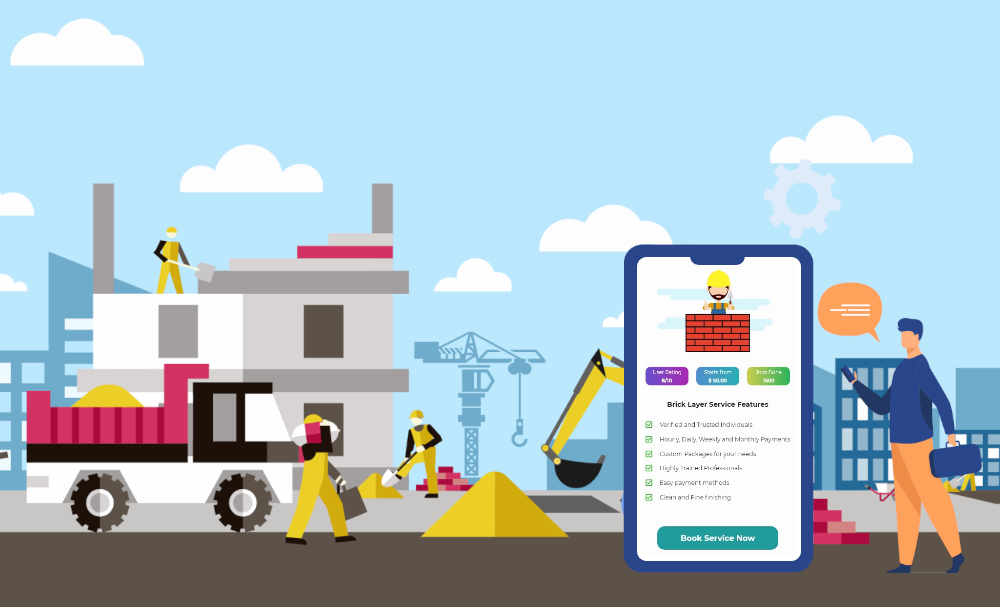 on-demand construction app development